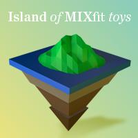 Island of MIXfit toys
